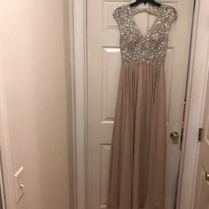 Prom dress - worn once! Willing to negotiate